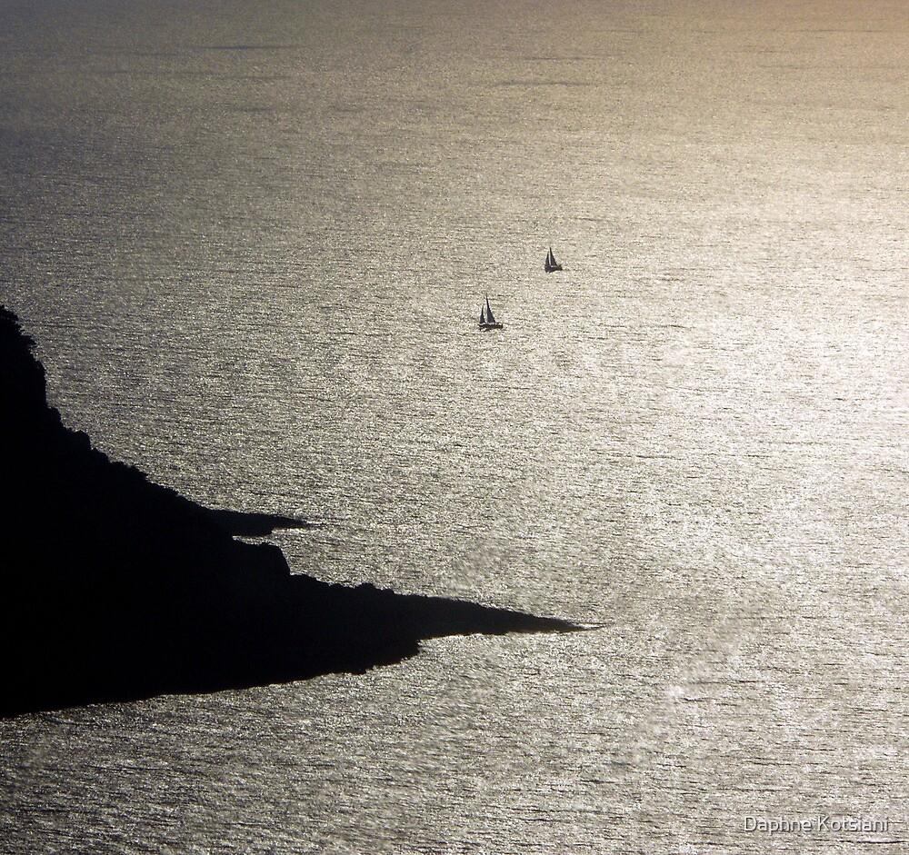 sailing away by Daphne Kotsiani