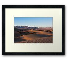 alien landscape. Framed Print
