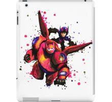 Big Hero 6 Baymax and Hiro Flying iPad Case/Skin