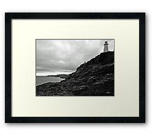 Cape spear Framed Print