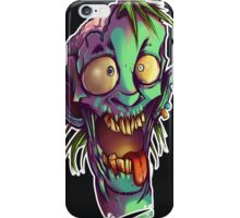 The crazy one - Zombie Punk! Collection iPhone Case/Skin
