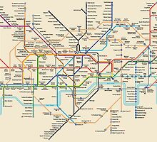 LondonTube by AlbertoFerro