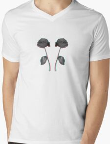 Roses are red.. and blue Mens V-Neck T-Shirt