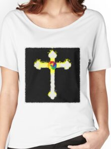Cross of the Rosicrucians by Pierre Blanchard Women's Relaxed Fit T-Shirt