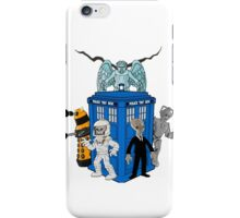 doctor who daleks cyberman silence tardis iPhone Case/Skin