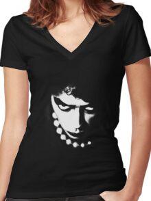 FrankNFurter Women's Fitted V-Neck T-Shirt