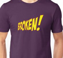 Comic Book Broken Logo Unisex T-Shirt