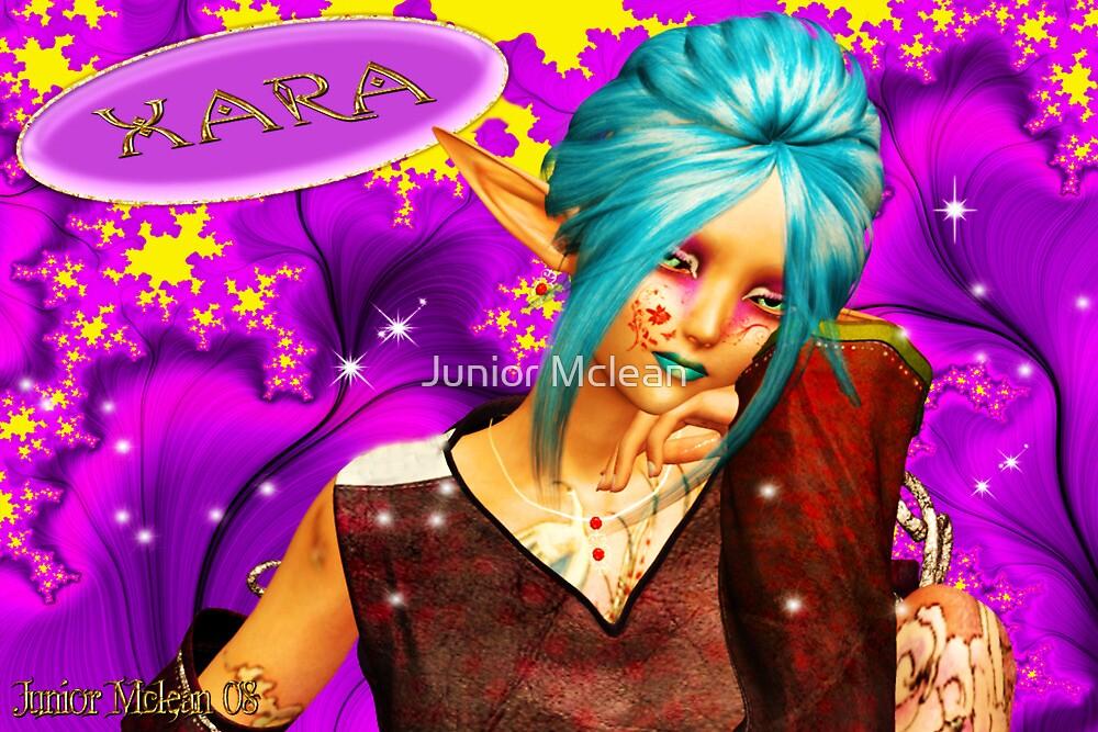 Xara: The Dragon Sorceress by Junior Mclean