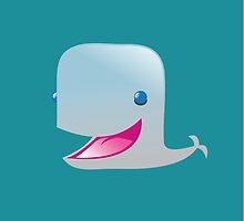 Cute new grey whale by jazzydevil