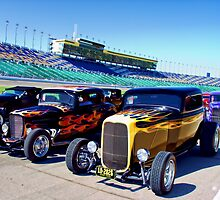 ROADSTER ROW Kansas City Speedway by Robert Beck