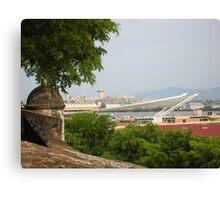 Pier View from Viejo San Juan Canvas Print