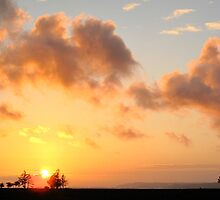 Sugar Valley Sunset 4 - Southbend, WA by Britland Tracy