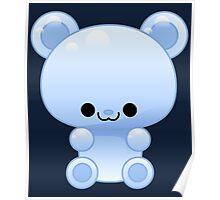 Blue Gummy bear Poster