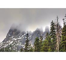 The North Cascades Highway. Photographic Print