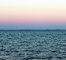 Moriches Bay Evening Sky | Center Moriches, New York by © Sophie W. Smith