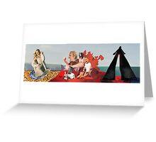 Birth of... Aphrodite Greeting Card