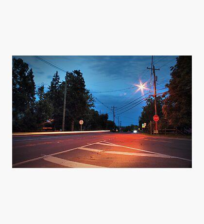 Route 118 (Lehman Center) Photographic Print