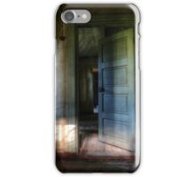 1.8.2015: Doorway in Abandoned Farm House iPhone Case/Skin