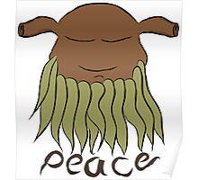 ~ Beard man (peace) Poster