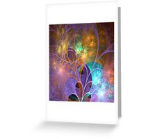 The Electrified Garden Greeting Card