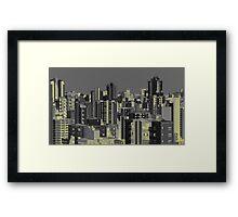 Cidade Framed Print