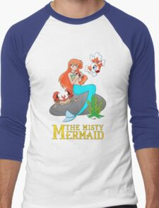 The Misty Mermaid Men's Baseball ¾ T-Shirt