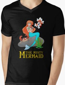 The Misty Mermaid Mens V-Neck T-Shirt