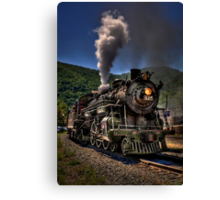 Hot And Steamy Canvas Print