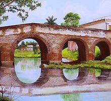 The Bridge Over the River Yayabo by Dominica Alcantara