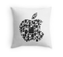 APPLE - IPAD IPHONE IPOD TOUCH Throw Pillow