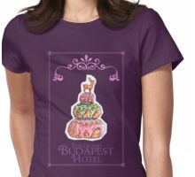 The Grand Budapest Hotel Womens Fitted T-Shirt