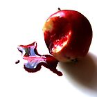 Bleeding Apple by Alexis  Reber
