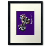Wilma the Wire Woman Framed Print