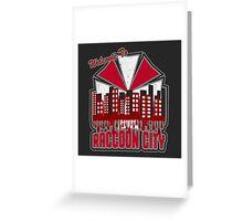 Raccoon City Greeting Card
