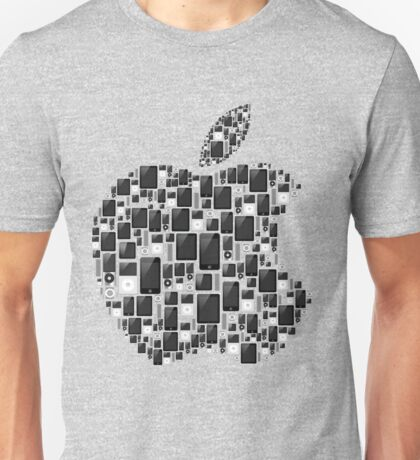 APPLE - IPAD IPHONE IPOD TOUCH Unisex T-Shirt