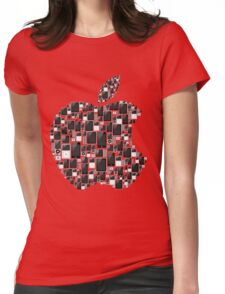 APPLE - IPAD IPHONE IPOD TOUCH Womens Fitted T-Shirt