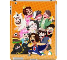 Grump gang and co iPad Case/Skin