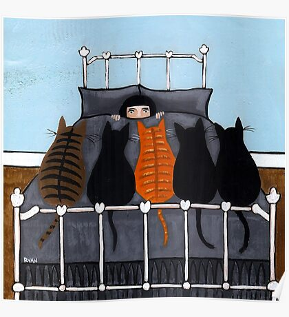 The Cat Alarm Poster