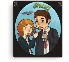 X-Files Canvas Print