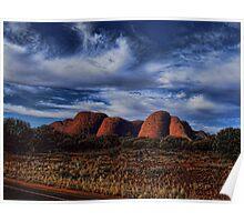 Kata Juta Central Australia Poster