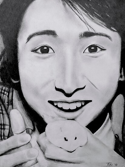 ohno with hamster by tego53