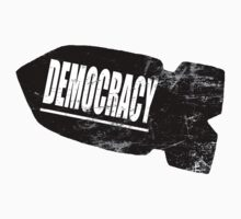 Democracy Bomb by onitees