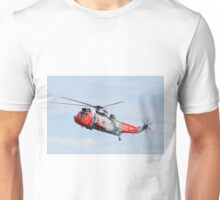 Royal Navy Sea King Rescue Helicopter Unisex T-Shirt
