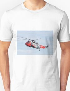 Royal Navy Sea King Rescue Helicopter T-Shirt