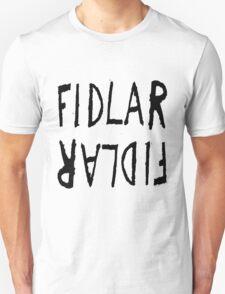 Fidlar logo white Unisex T-Shirt