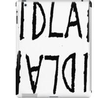 Fidlar logo white iPad Case/Skin