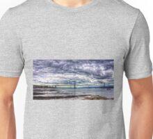 Clouds over the Bridge Panorama Unisex T-Shirt