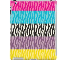 Pastel Zebra Patterns iPad Case/Skin