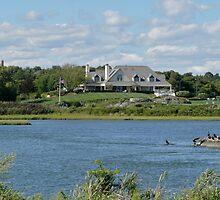 Salt Pond - Goose Neck Cove - Newport - Rhode Island by Jack McCabe