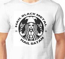 Starbucks Black Metal / Hail Satan Unisex T-Shirt